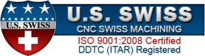 US Swiss CNC Machining Logo w-DDTC ITAR
