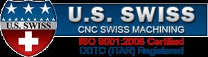 US Swiss CNC Machining Logo w-DDTC ITAR